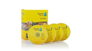 Rosetta Stone Language Learning System Levels 1, 2 and 3