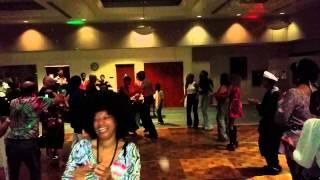 Letitia Fleming 70th birthday bash Soul Train Line