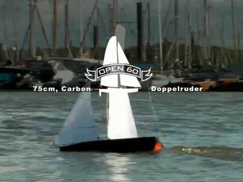 Really cool: Fast offshore cabon sailing modelboats. Seagoing.