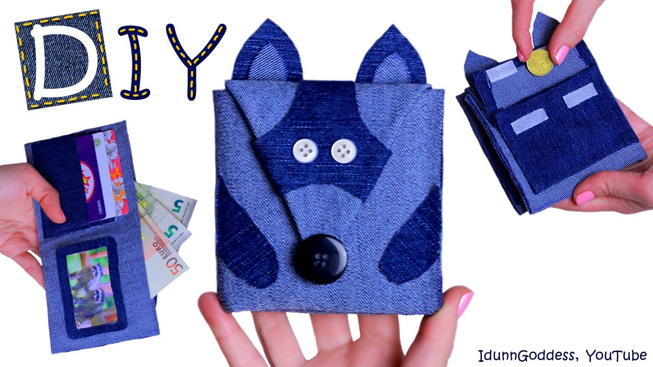 How to make a raccoon wallet diy raccoon wallet out of old jeans how to make a raccoon wallet diy raccoon wallet out of old jeans no sew youtube jeuxipadfo Choice Image