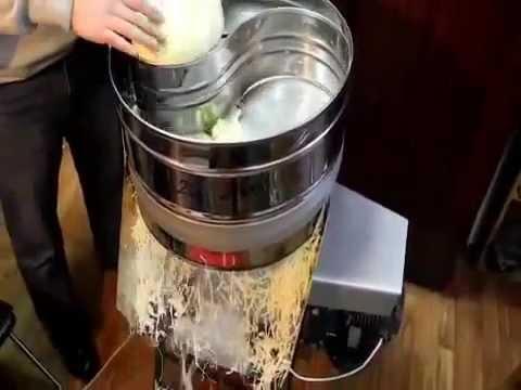 Как самому сделать механическую шинковку для капусты