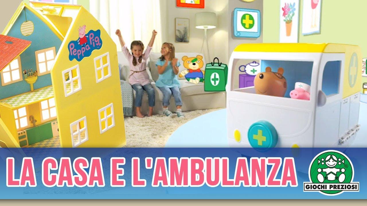 reputable site 34330 1044f Giochi Preziosi | Peppa Pig La Casa e l'Ambulanza