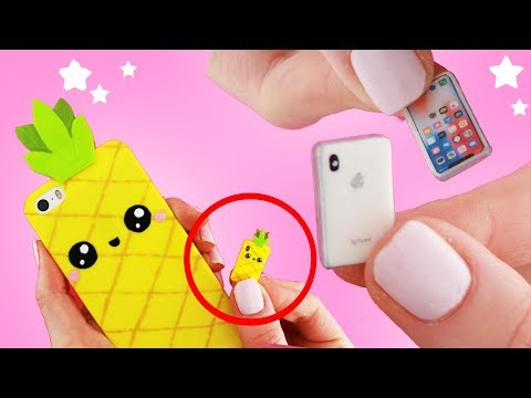 DIY MINI iPhone! - Miniature Phone!! | KAWAII FRIDAY