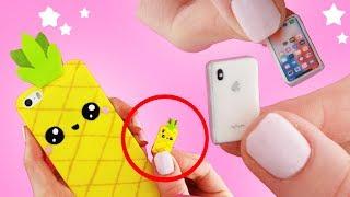 DIY MINI iPhone! - Miniature Phone!! | KAWAII FRIDAY