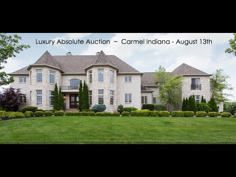 Luxury Home For Sale Carmel Indiana Near Indianapolis | Absolute Auction
