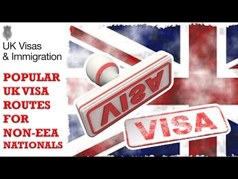 Popular UK Visa routes for non EEA nationals  | UKVI || UKBA || UK IMMIGRATION | 2018 HD