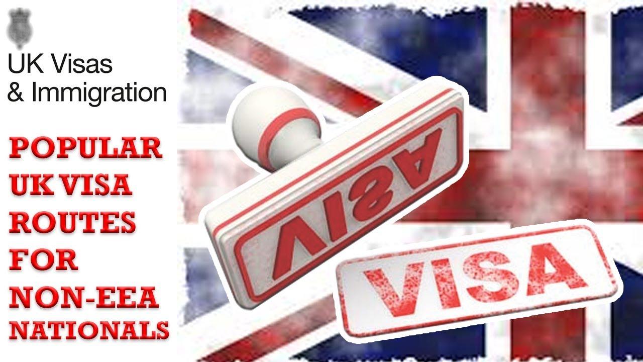 Popular UK Visa routes for non EEA nationals | UKVI || UKBA || UK  IMMIGRATION | 2018 HD