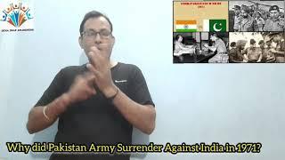 IDA NEWS 793: DEC 3, 2020: INDIA-PAKISTAN WAR: WHY HAS PAKISTAN ARMY SURRENDER? INDIA HELPED BANGLDH
