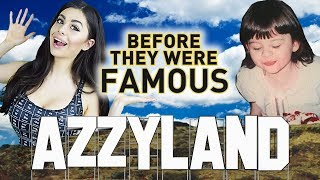 AZZYLAND | Before They Were Famous | YouTuber