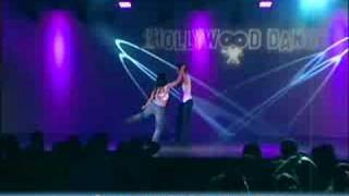 Benji & Lacey Schwimmer performing at iHollywood Dance.