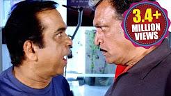 Baadshah Comedy Scene | War Between Padmanabha Simha & Jaya Simha | Brahmanandam, Nassar | HD