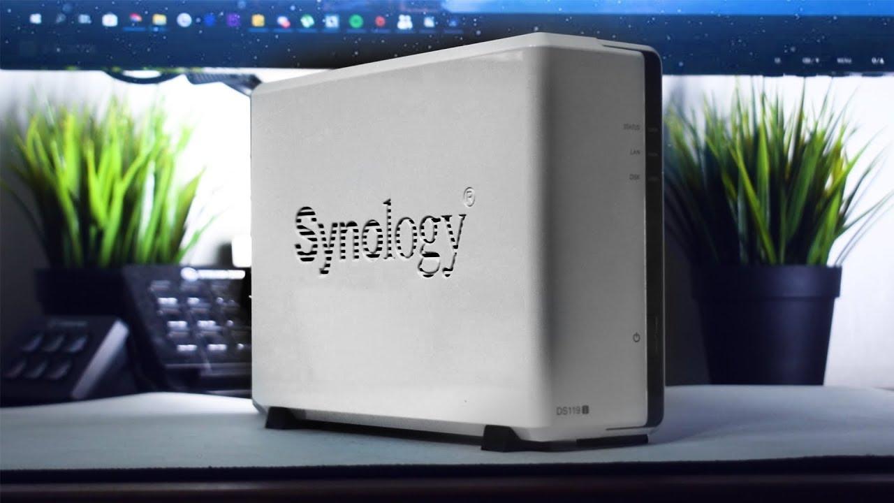 Min första NAS är det något bra? Synology DS119j