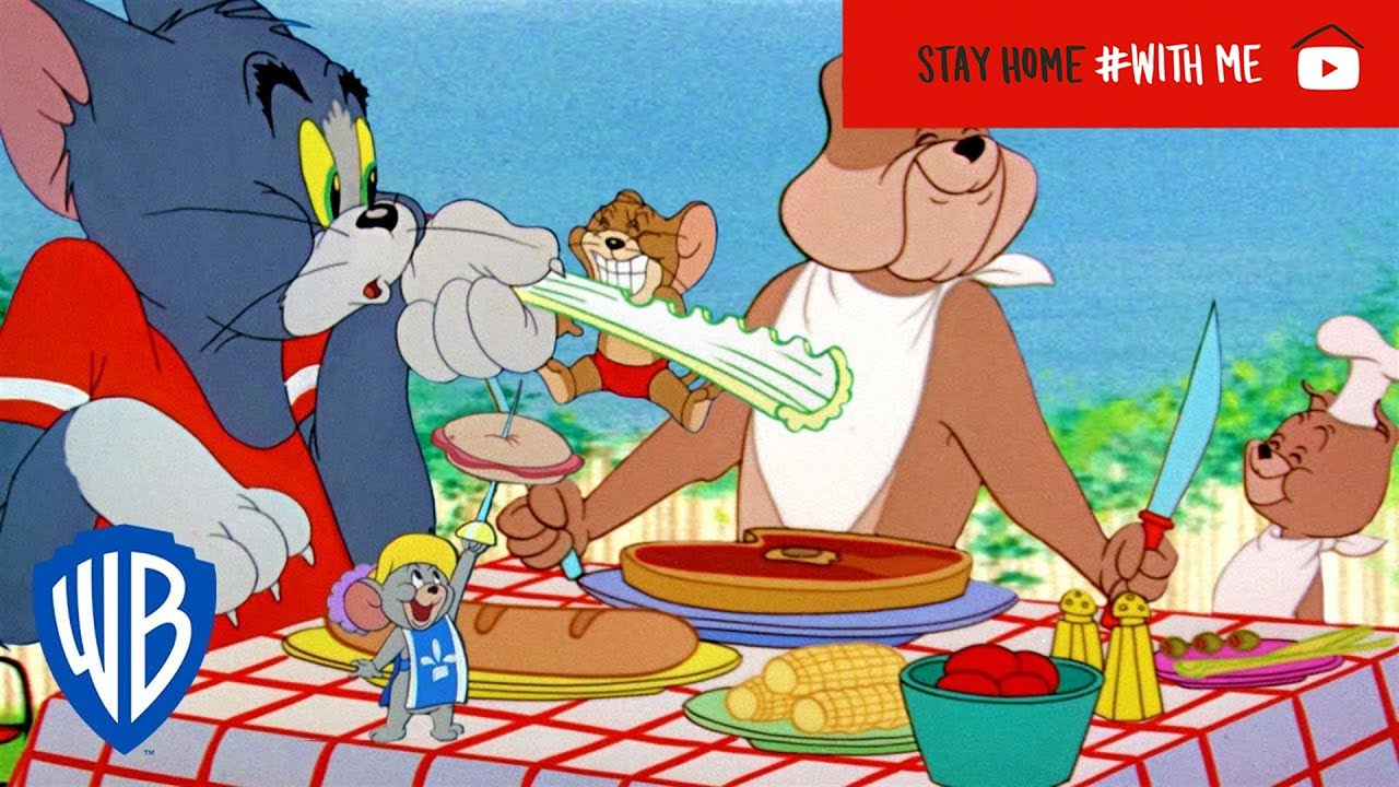 Tom & Jerry   Top 10 Most Delicious Food Moment   WB Kids