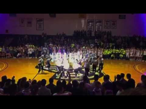 Stonehill College Dance Team Midnight Madness 2016 (front view)