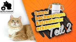 🔥Gutes Katzenfutter - hochwertiges Katzenfutter erkennen! Analytische Bestandteile