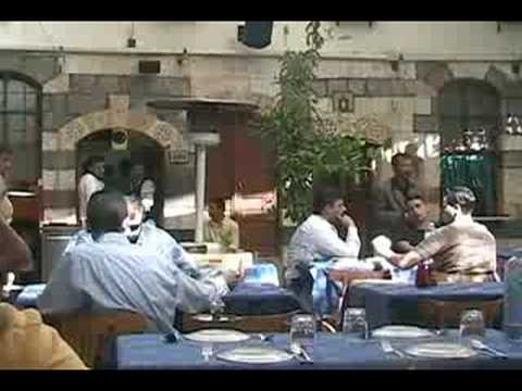 Damascus Street & Restaurant scenes- Damascus, Syria