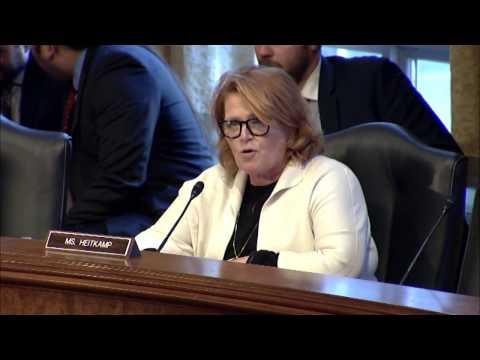 Heitkamp Reinforces Senate Committee