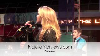 Emily Osment - All the Way Up (LIVE at City Walk L.A. 12/13/09)