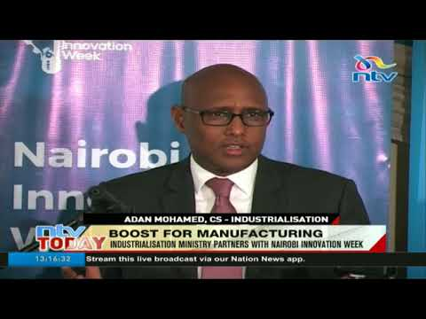 Industrialization ministry partners with Nairobi innovation week to support small scale businesses