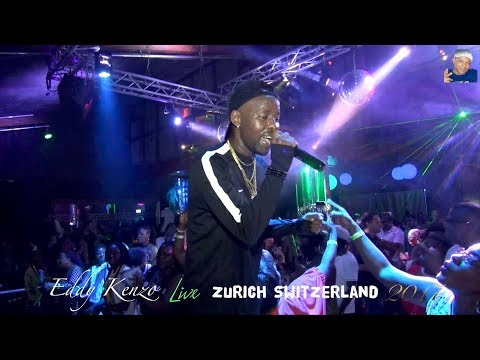 Eddy Kenzo, (mega party) Zurich Switzerland, 2017