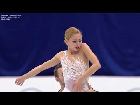 2018 Four Continents - Final group Pairs Free Skating (ITA)