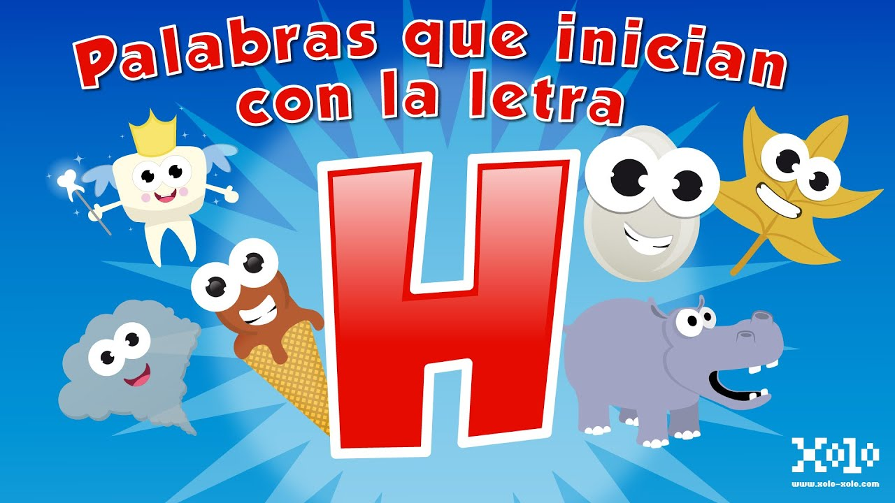 Words That Start With The Letter H In Spanish For Children   YouTube