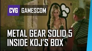 Metal Gear Solid 4 - What's Inside Kojima's Box?
