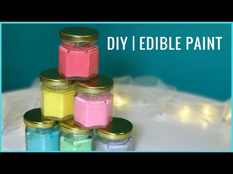 DIY I Edible Paint