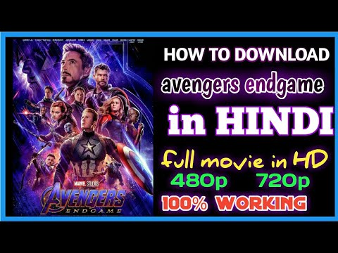 Download [HD]How to download Avengers Endgame Full Movie in hindi/english | 720p in 1.4gb
