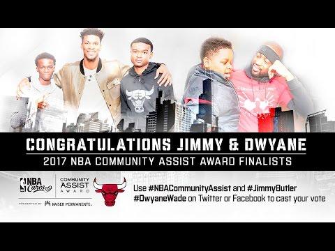 Chicago Bulls' Jimmy Butler and Dwayne Wade Nominated for 2016-2017 Seasonlong ...
