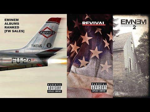 Eminem Albums Ranked by First-Week Sales | Kamikaze Figures | Updated Mp3