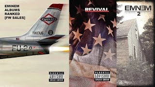 Eminem Albums Ranked by First-Week Sales | Kamikaze Figures | Updated