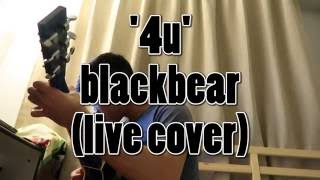 4u blackbear live cover vocals acoustic guitar