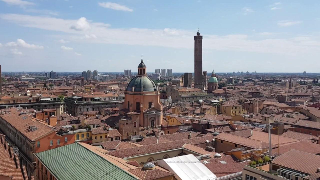 Bologna Terrazza Panoramica Della Basilica Di San Petronio