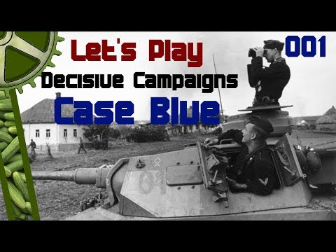 Let's Play Decisive Campaigns: Case Blue - First Blood And It Ain't Blue