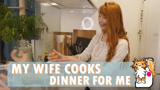 Main Cooking Channel: https://www.youtube.com/JunsKitchen ▻Patreon: https://www.patreon.com/JunsKitchen My wife tried cooking dinner for me. :)
