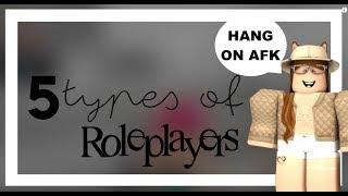 5 Arten von Rollenspielern in Roblox / / Teil 2 | gxldengloss