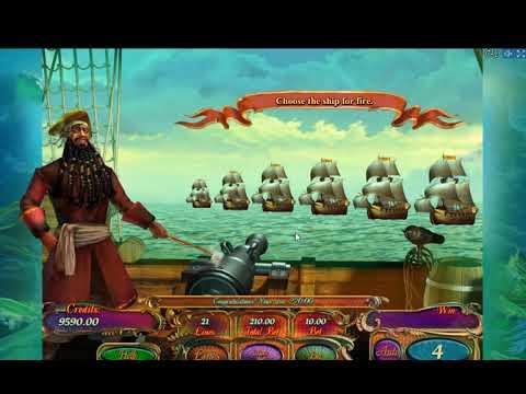 Игровой Автомат Pirates Treasures  (Слот Пиратские Сокровища)!