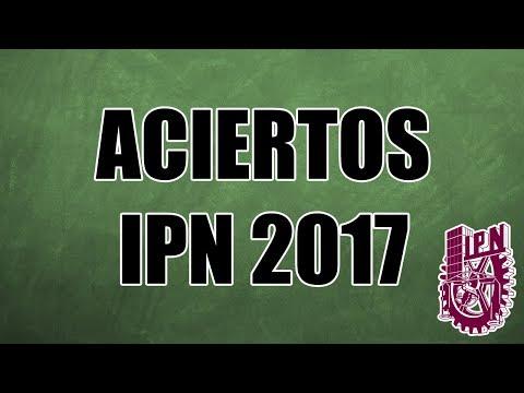 Aciertos IPN 2017