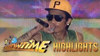 It's Showtime Kalokalike Face 2 Level Up: Wiz Khalifa