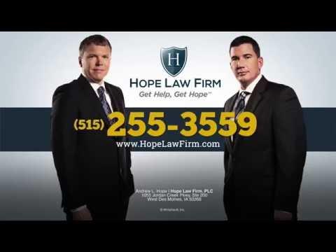 Iowa Personal Injury Lawyers | Hope Law Firm | injuryhopelaw.com