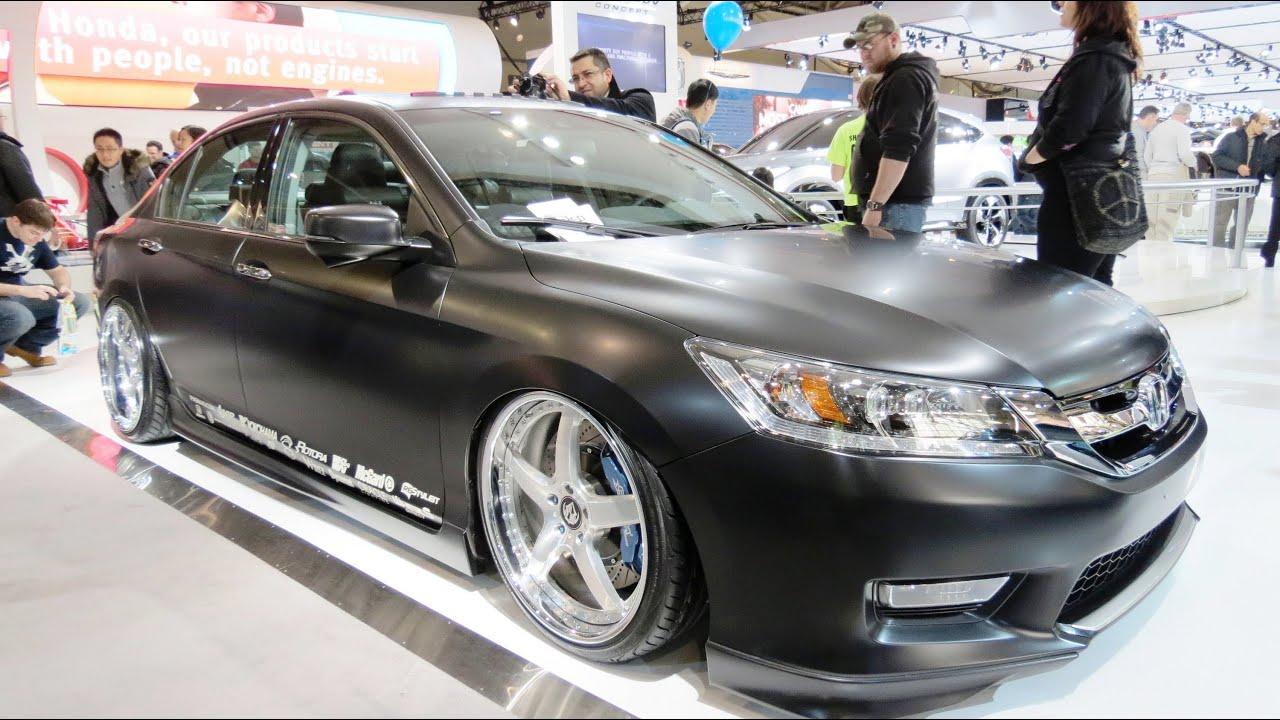 Custom Honda Accord At The 2013 Canadian Int Auto Show