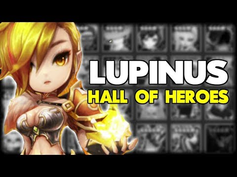 SUMMONERS WAR: HALL OF HEROES | LUPINUS THE WIND MAGIC KNIGHT