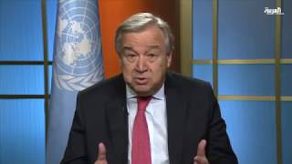اليوم الأول لـ #غوتيريس في الأمم المتحدة