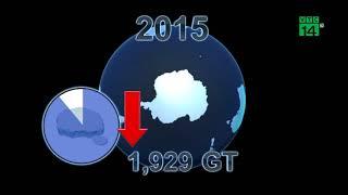 VTC14 | Băng ở Nam Cực tan nhanh 2 lần so với dự báo