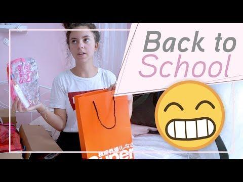 Back to School / Unsere neuen Schulsachen / FRAU_SEIN