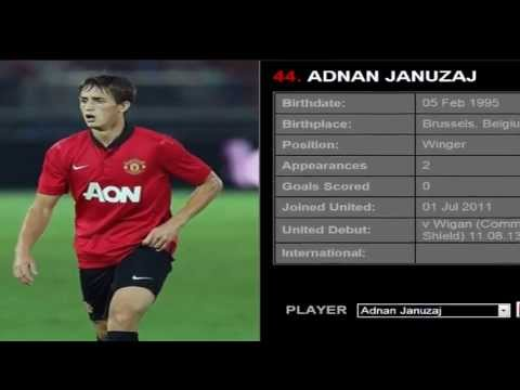 All Manchester united players 2013-2014