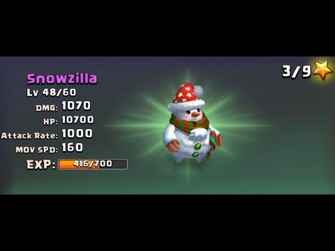 Castle Clash Strategy 15: Snowzilla Arena Action - Distaggio