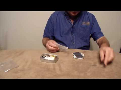 The Ration Review- #1- Survival Kit In A Sardine Can