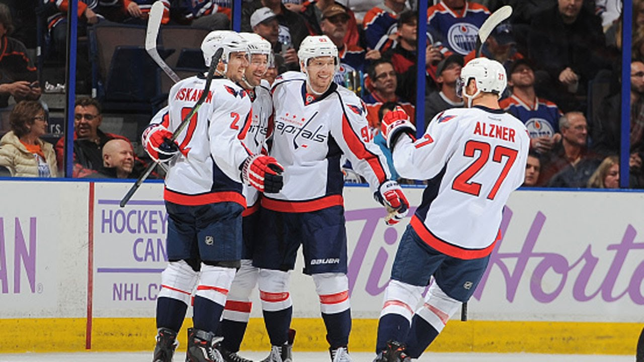 Kuznetsov records hat trick against Oilers - YouTube dc135563bde